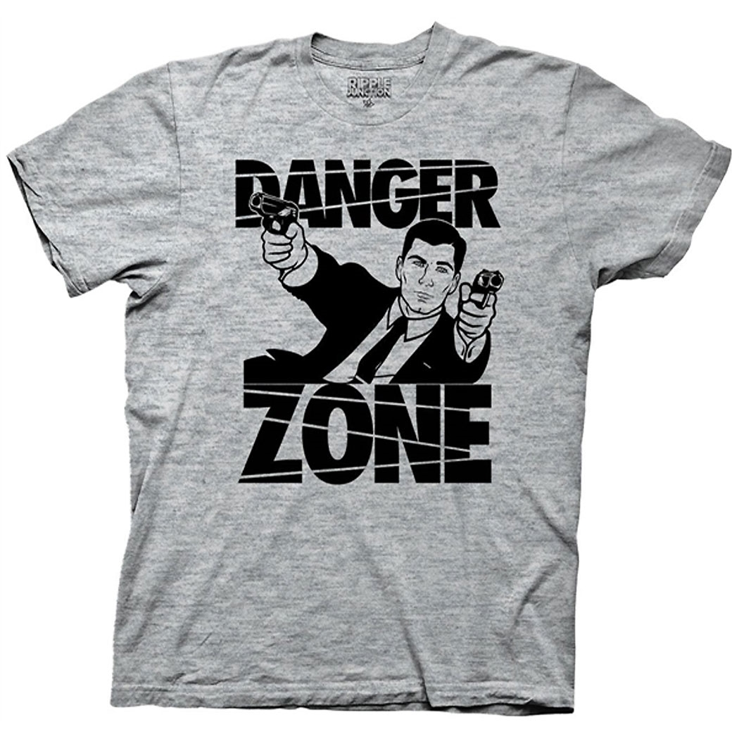 Archer-Danger-Zone-T-Shirt