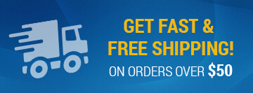 GET FAST & FREE SHIPPING