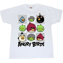 Angry Birds Gridlock Adult T-Shirt