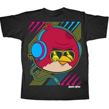 Angry Birds Neon Bird Youth T-Shirt