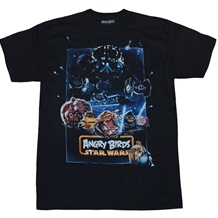 Angry Birds: Star Wars Poster T-Shirt
