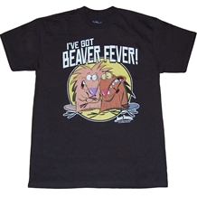 Angry Beavers I Got  Beaver Fever T-Shirt