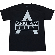 Batman Arkham City Bold Logo T-Shirt