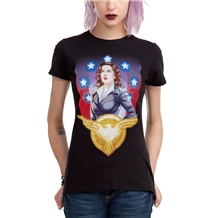 Marvel Agent Carter SSR Junior Women's T-Shirt