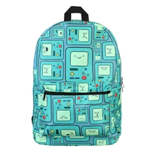 adventure time beebo all over backpack