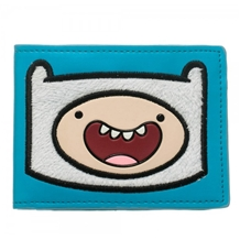 Adventure Time Finn Furry Bi-Fold Wallet
