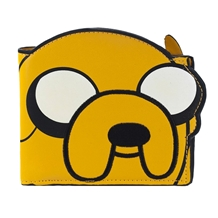 Adventure Time Jake Die Cut Bi-Fold Wallet