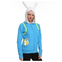 Adventure Time I Am Fionna Costume Girls Hoodie
