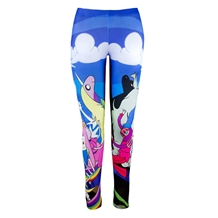 Adventure Time Duality Character Leggings