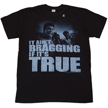 Muhammad Ali It Ain't Bragging T-Shirt