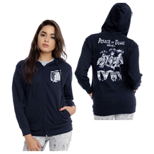 Attack on Titan Trio Junior Women's Hoodie