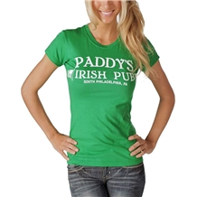 It's Always Sunny Paddy's Irish Pub Junior Women's T-Shirt