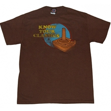 Atari Know Your Classics T-Shirt