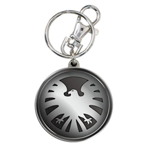 Avengers Shield Pewter Key Chain