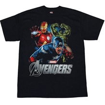 Avengers Action Packed Youth Kids T-Shirt