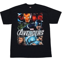 Avengers Group Juvy Kids T-Shirt