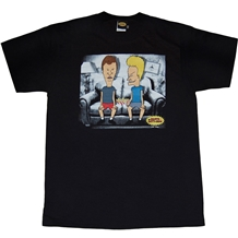 Beavis and Butthead Basement T-Shirt