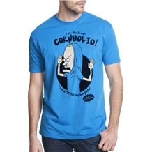 beavis and butthead the great cornholio t-shirt