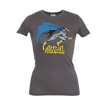 Batgirl Is Hot Junior Tee