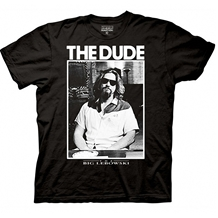 Big Lebowski The Dude Photo T-Shirt