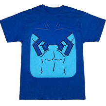 Blue Beetle Costume Suit T-Shirt