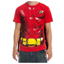 Robin Cape Suit  Costume T-Shirt