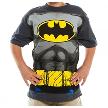 Batman Costume Youth T-Shirt