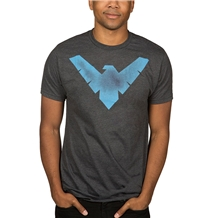 Nightwing Distressed Logo T-Shirt