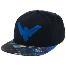 Batman Nightwing Sublimation Snapback Hat