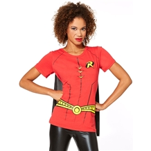 Robin Suit Up Cape Junior T-Shirt