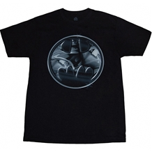 Batman Chrome Logo T-Shirt