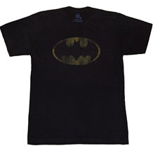 Batman Distressed Vintage Logo T-Shirt