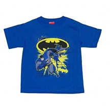 Batman Action Collage Juvy T-Shirt