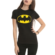Batman Symbol Junior Ladies T-Shirt