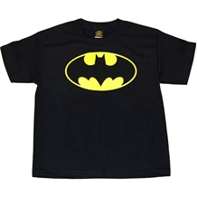 Batman Classic Logo Youth Kids T-Shirt