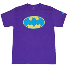 Neon Batman Logo T-Shirt