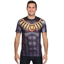 Black Panther Sublimated Costume T-Shirt