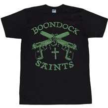 Boondock Saints Guns and Rosary Shirt