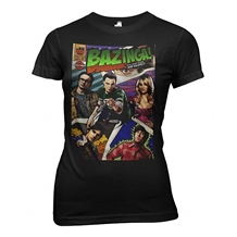 Big Bang Theory Bazinga Comic Junior Tee