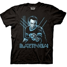 Big Bang Theory Glowing Sheldon T-Shirt