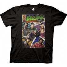 Big Bang Theory Bazinga Comic T-Shirt
