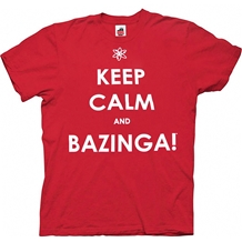 Keep Calm and Bazinga T-Shirt