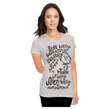Big Bang Theory Soft Kitty Junior Ladies T-Shirt