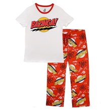 Big Bang Theory Bazinga Junior Pajama Set
