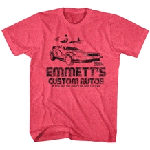 Back To The Future Emmetts Custom Auto T-Shirt