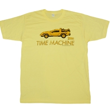Delorean Time Machine T-Shirt