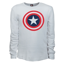 Captain America Shield Thermal Shirt
