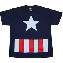 Captain America Costume Youth T-Shirt