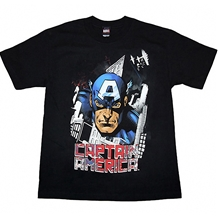 Captain America Airplanes T-Shirt