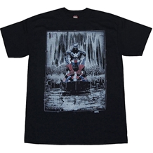 Captain America Raining Remembrance T-Shirt
